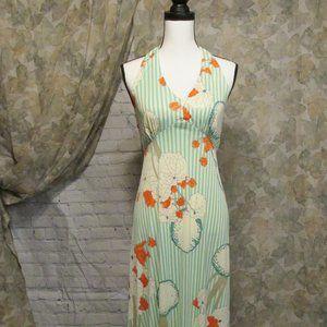 Vintage 70's Halter Dress